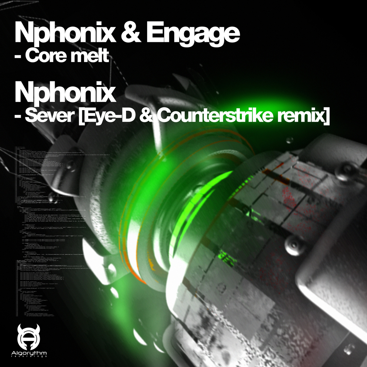 Nphonix & Engage - Core Melt  Sever (Eye-D & Counterstrike Remix)
