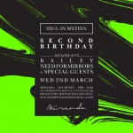 Need For Mirrors — Soul In Motion 2nd Birthday Mix