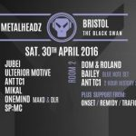 Dom & Roland — Metalheadz Bristol Promo Mix (30-04-16)