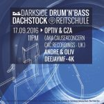 Optiv & CZA @ Darkside, Dachstock (17-09-16)
